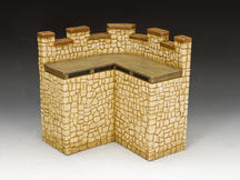 Roman Fort Corner Wall Section (Sandstone)
