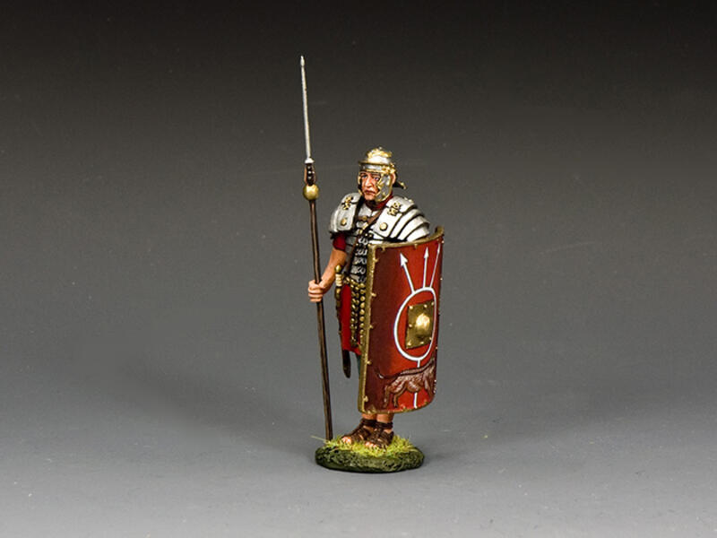 'At Attention' Roman Legionary w/Pilum