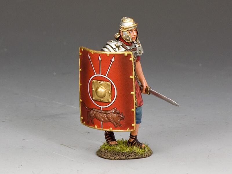 Advancing Legionary w/Sword in Left Hand