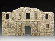 The New Alamo Facade