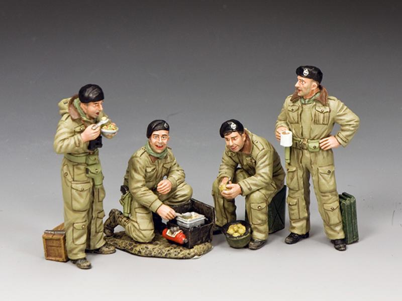 Combined Dismounted British Tank Crew