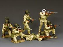 Arab Infantry in Action Set