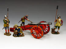 English Civil War Cannon SET