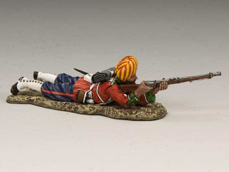Ludhiana Sikhs Regiment Lying Firing