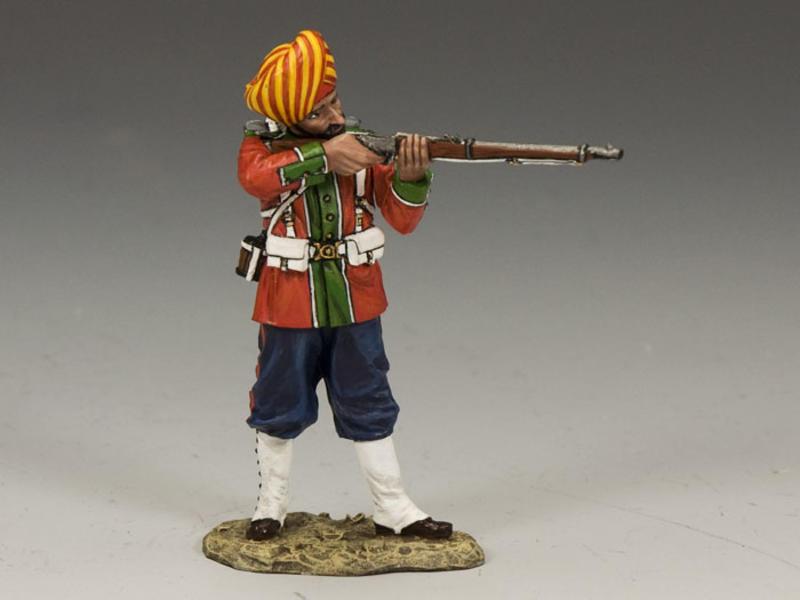 Ludhiana Sikhs Regiment Standing Firing (Gloss)