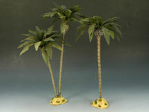 Desert Palm Trees (Single & Double Trees)