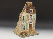 Bomb-damaged French House