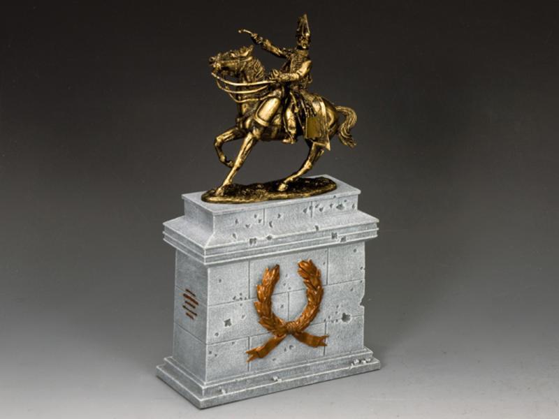 """General Lasalle w/Grey Stone Plinth"" (SP075 + SP090)"