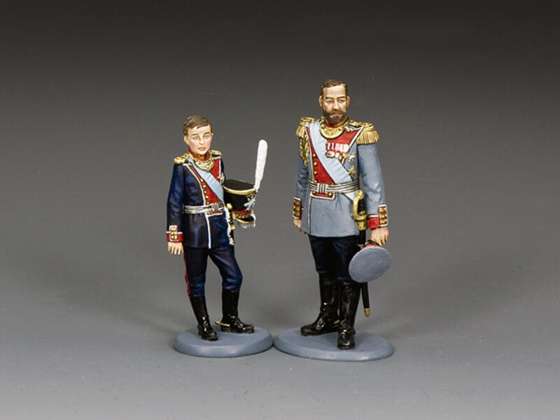 Tsar Nicholas II & Tsarevich Alexei
