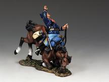 Falling Trooper & Horse