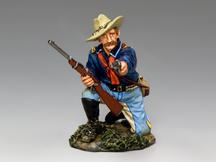 Kneeling Officer w/ Pistol & Carbine