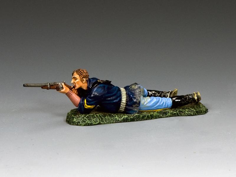 Corporal Lying Firing Carbine