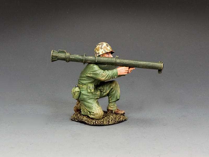 Kneeling Marine w/Bazooka