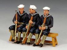 Three-Sitting Sailor