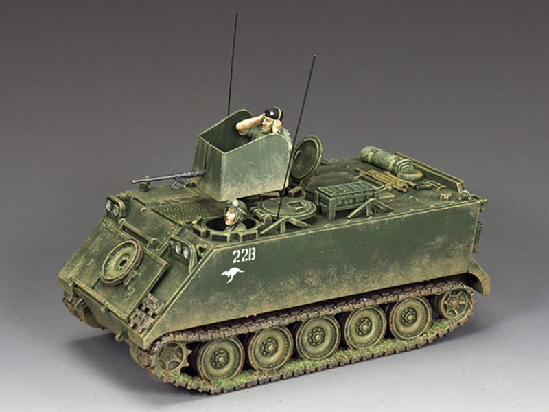 The Aussie M113 Armoured Personnel Carrier