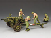 The ANZAC 105mm Gun & Crew Set