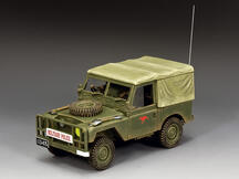 The Australian Military Police Land Rover