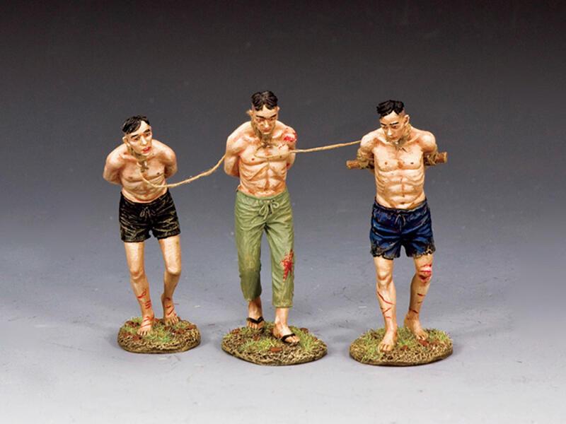 Three Captured Viet Cong