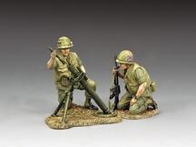 Marines Mortar Team