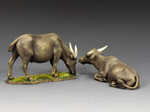 A Pair of Water Buffaloes