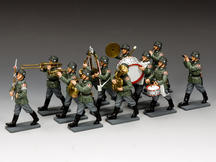 The 12-piece Classic Wehrmacht Band