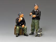 Dismounted Armoured Vehicle Crewmen (Black)