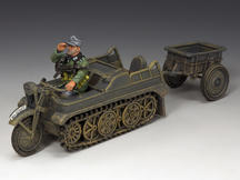 Sd.KFz.2 Kettenkrad and Trailer
