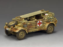 "The ""Afrika Korps"" Kubelwagen Ambulance"
