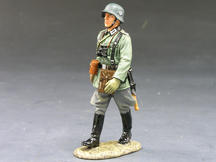 Marching German Officer