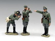 German War Correspondent Set