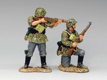 Riflemen in Action