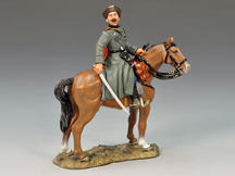 Mounted Cossack Officer w/ Sword