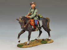 Mounted Cossack Holding Rifle (Looking Left)
