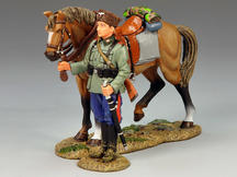 Standing Cossack and Horse