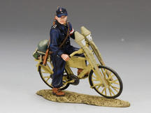 Hitlerjugend with Bicycle