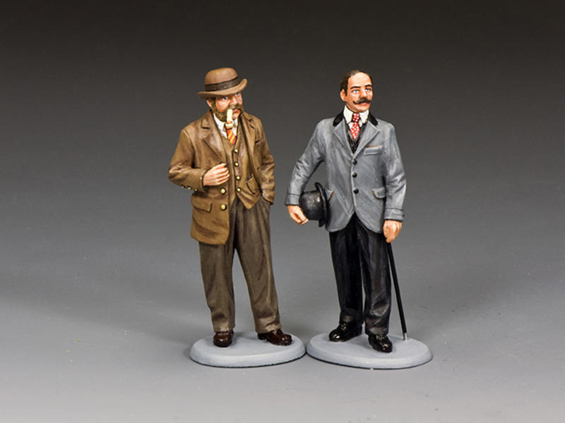 Inspectors Lestrade & Bradstreet of Scotland Yard