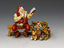 Santa & His Notebook