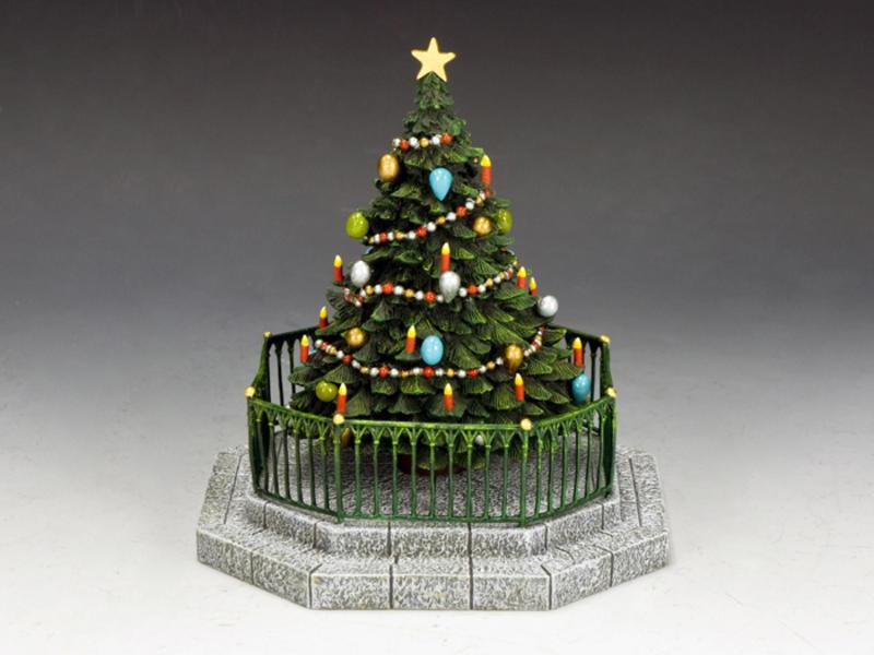 The Dickens Village Christmas Tree