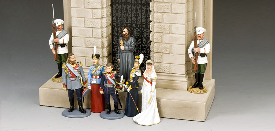 THE RISE & FALL OF THE ROMANOVS